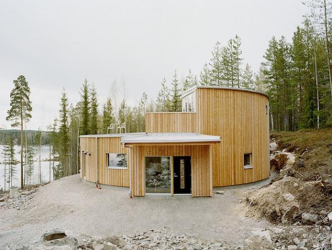 Villa Nyberg by Kjellgren Kaminsky Architecture in Thisispaper Magazine
